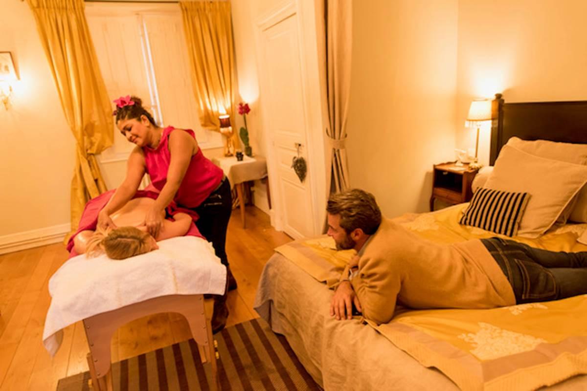 Chambre Amaury de kergorlay Massage