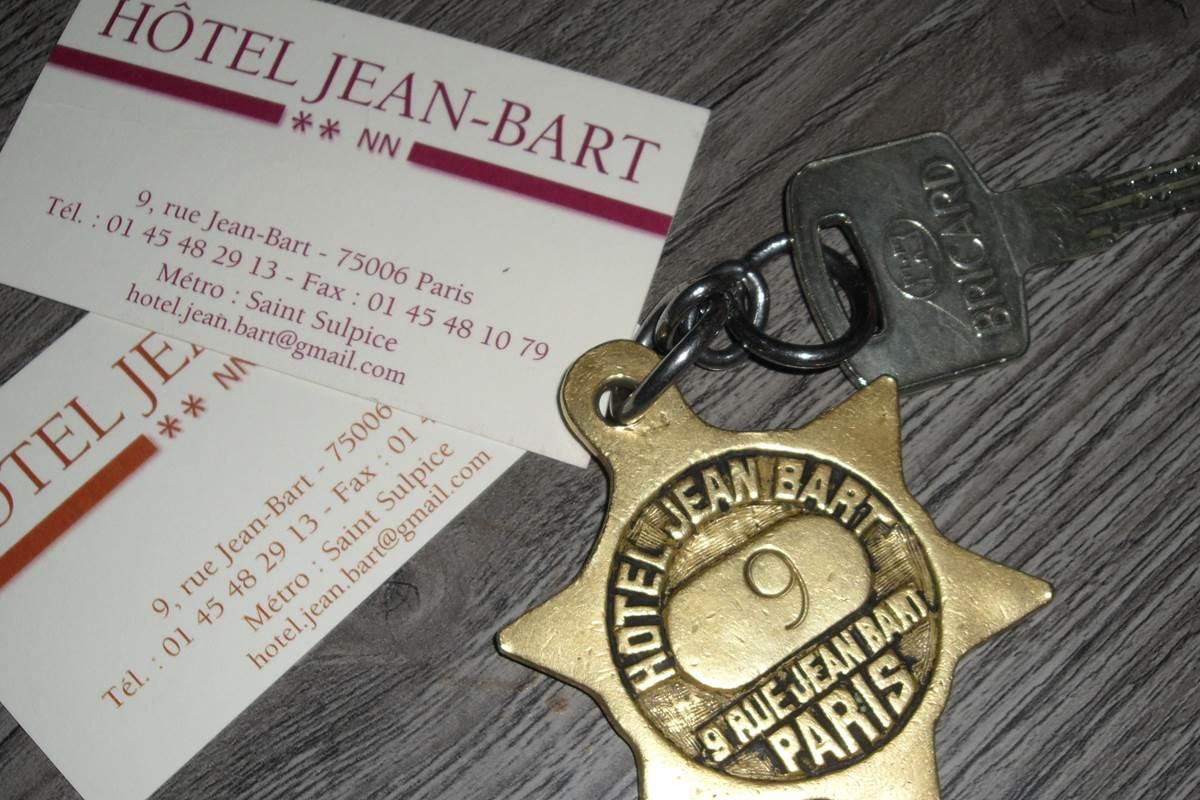 carte visite hotel jean bart paris 6 rue jean bart
