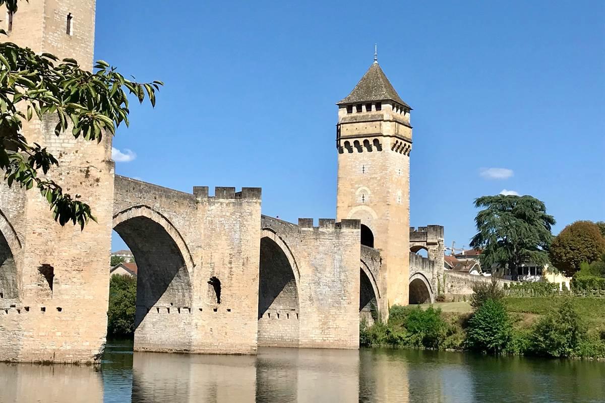 Le magnifique Pont Valentré avec son petit diable, Cahors