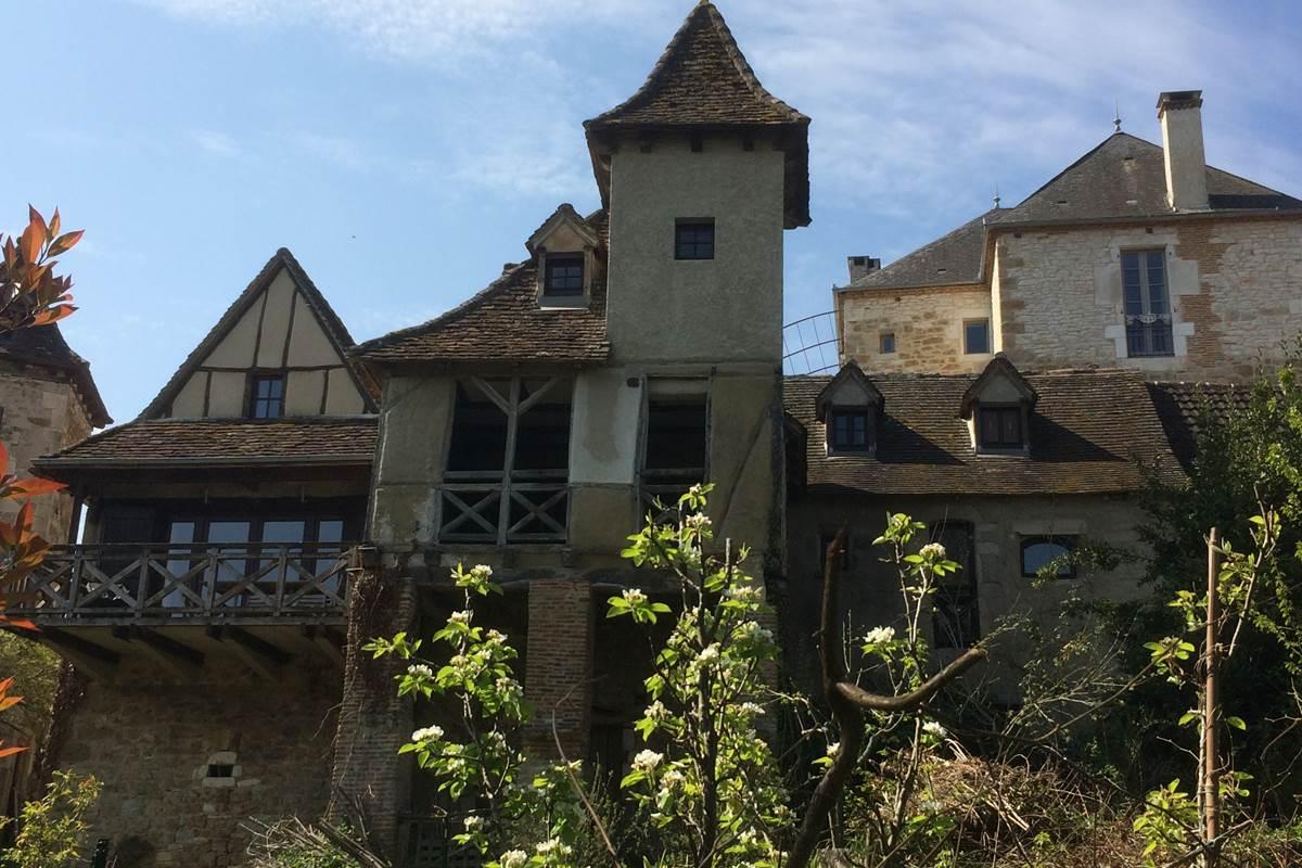 Les Terrasses de Carennac côté Dordogne