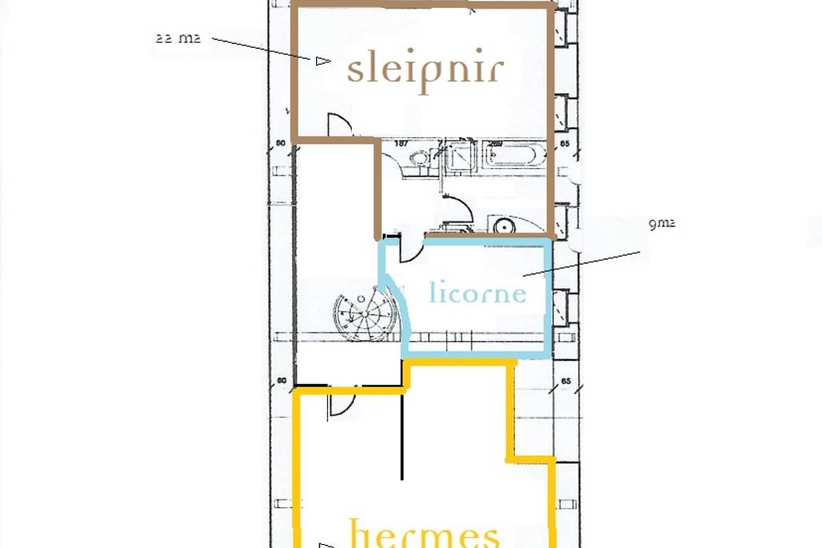 3 Malignac T des Lapins Plan chambres