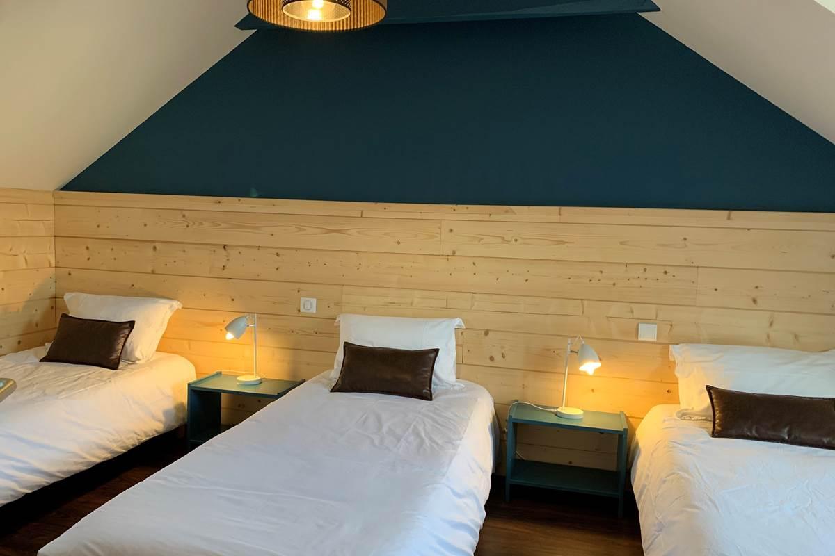 Chambre T3 Appart-Hôtel les Palombières