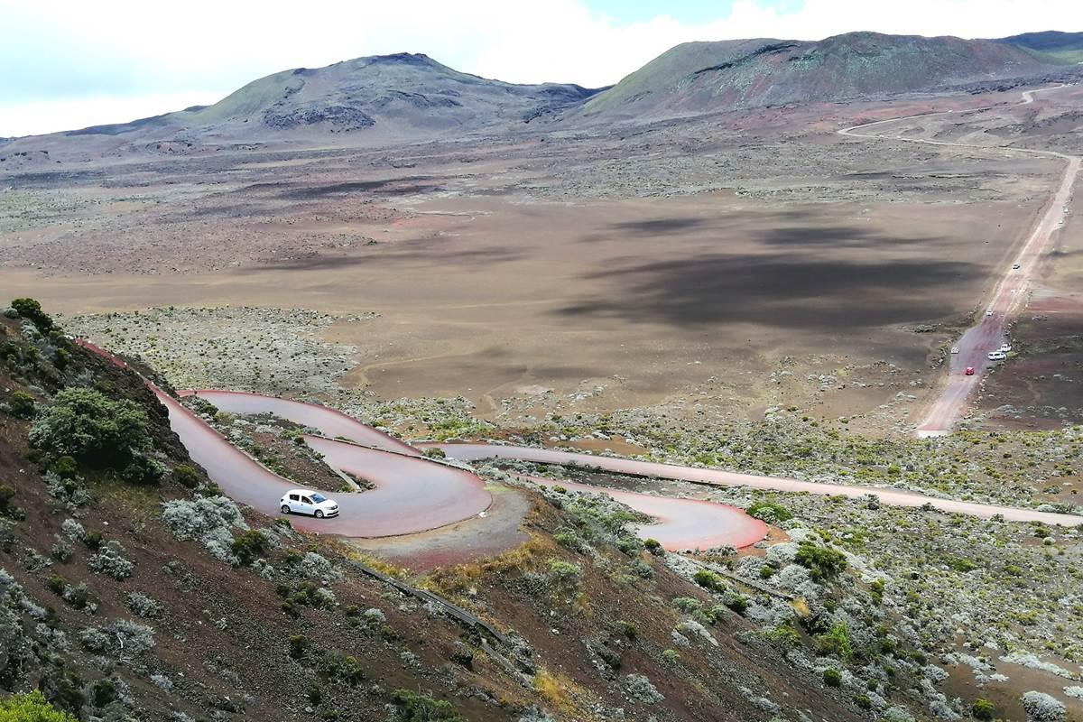 Sur la route du volcan