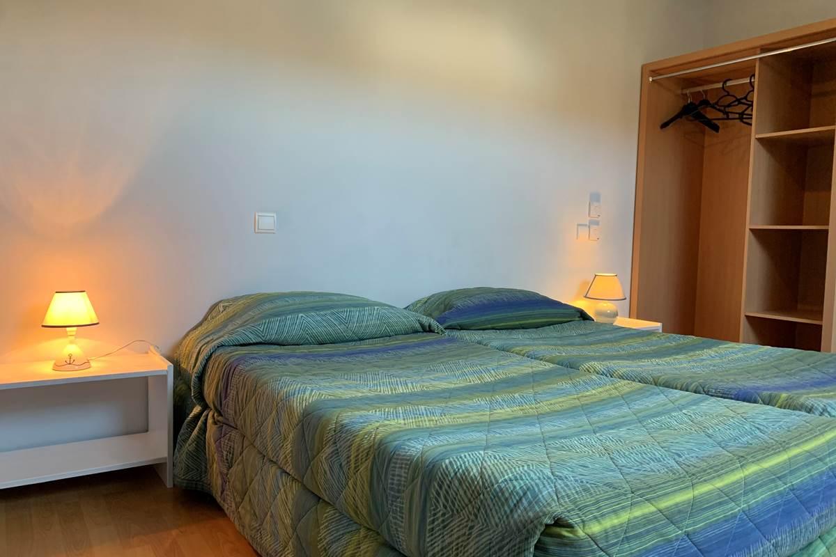 Lits Twin - Duplex Appart-Hôtel les Palombières