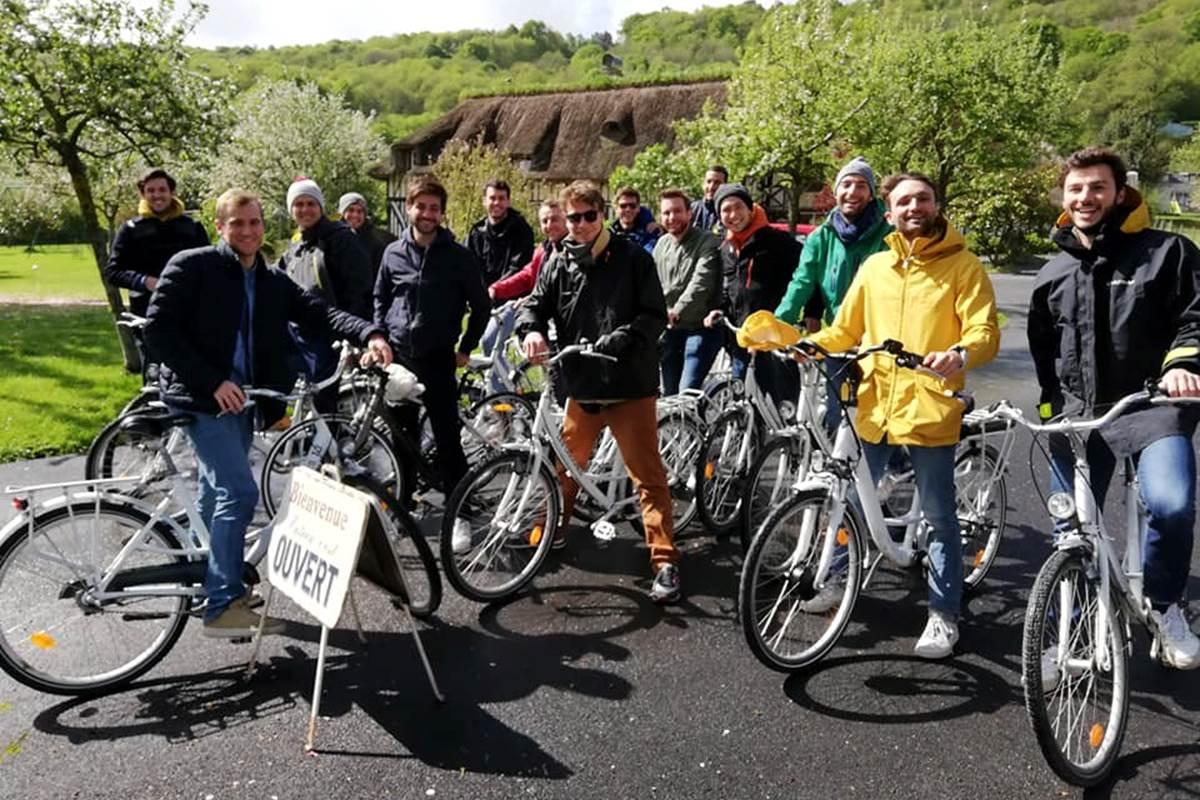 groupe vélos