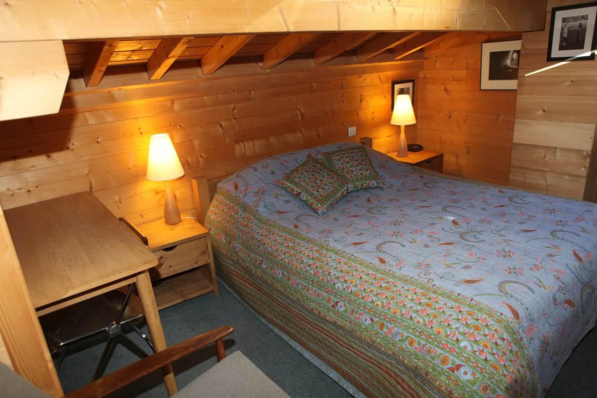 Chambre 3 du deuxième niveau, 1 lit de 160