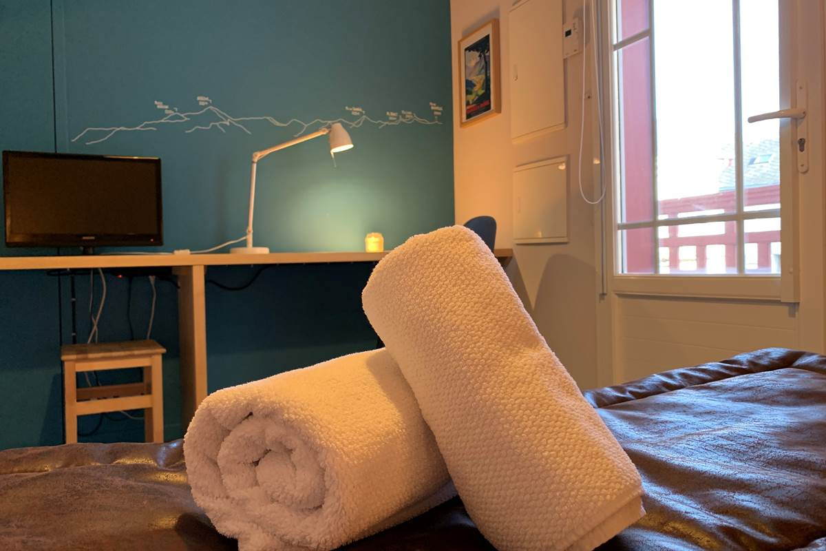 Bureau Studio Appart-Hôtel les Palombières