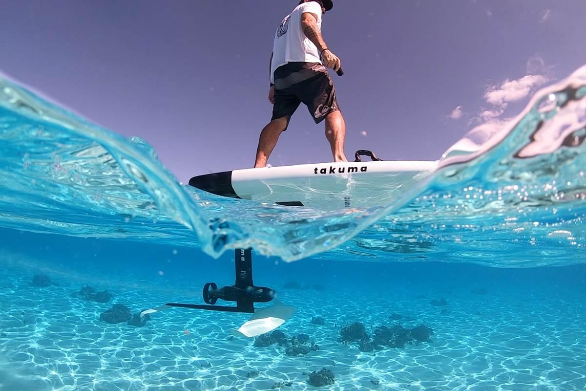 Surf électrique volant Quiberon Morbihan