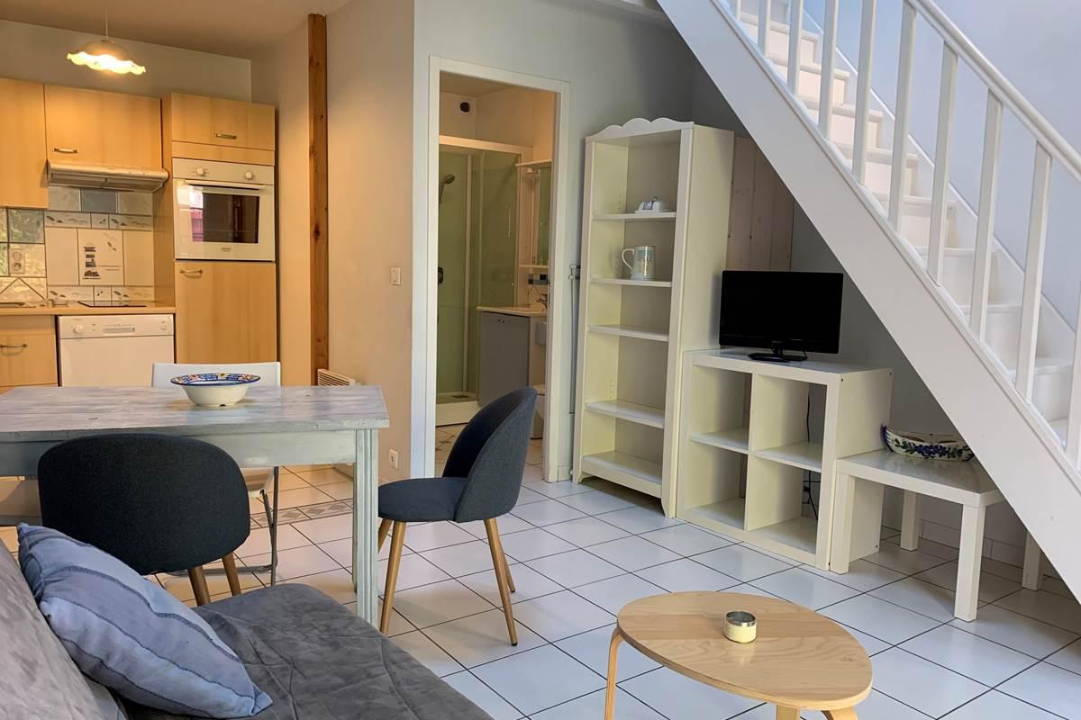 Salon Duplex Appart-Hôtel les Palombières