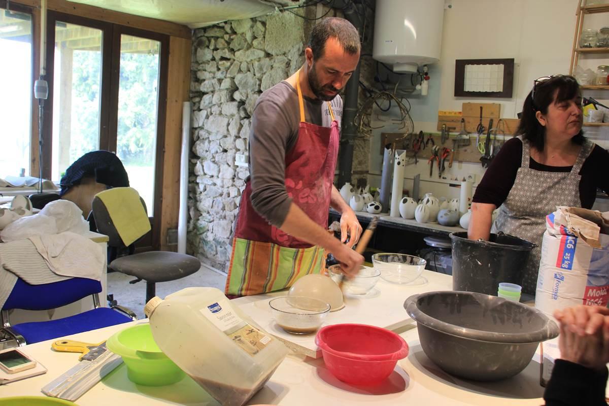 atelier porcelaine, savoir-faire, limoges, passage secret