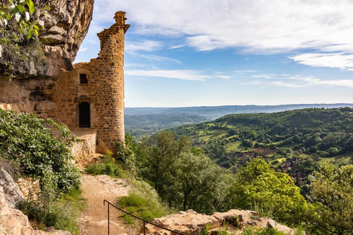Château des Anglais - Autoire © Lot Tourisme C. Novello