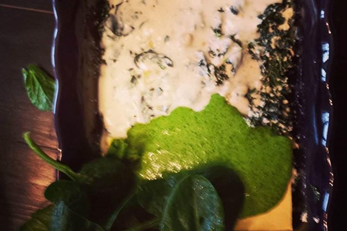Lasagne aux Epinards frais