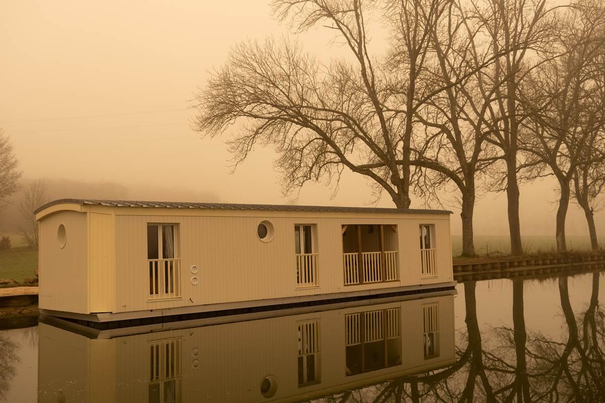 Un matin mystique en hivernal