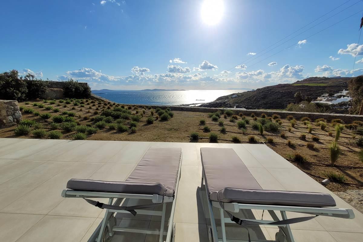 Villa Zélia Mykonos terrasse chambres