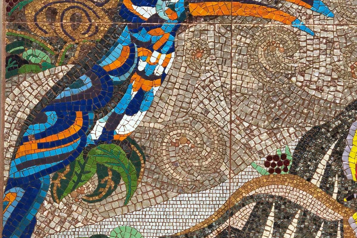 Le Clos Saint Lubin - La fresque
