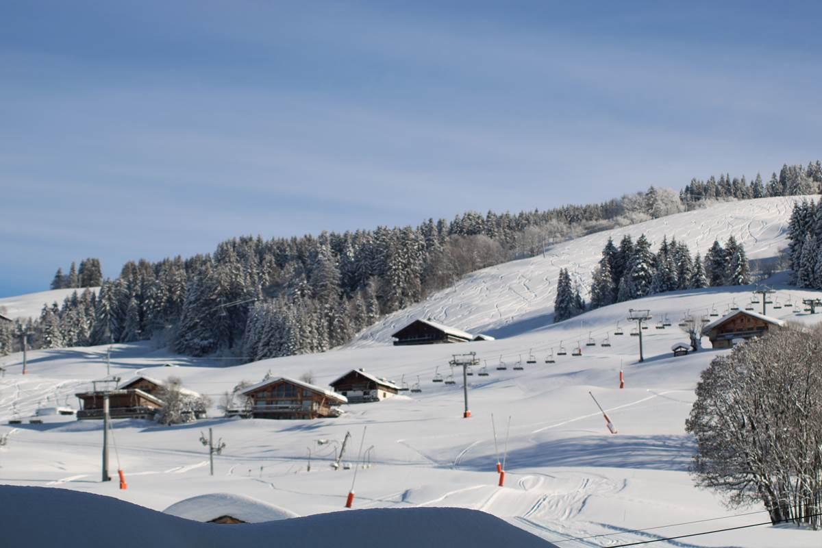 Pistes de ski espace Diamant Crest-Voland Val d'Arly