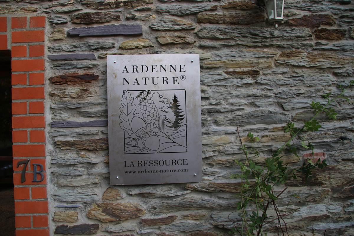 Logo Ardenne Nature sur la façade
