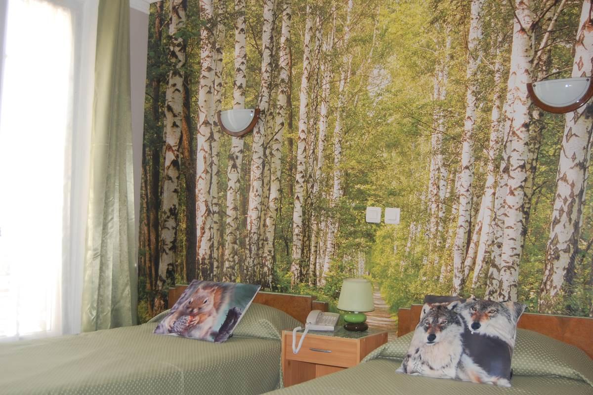 chambre 2 lits Hôtel Jean Bart 9 rue jean bart Paris 6
