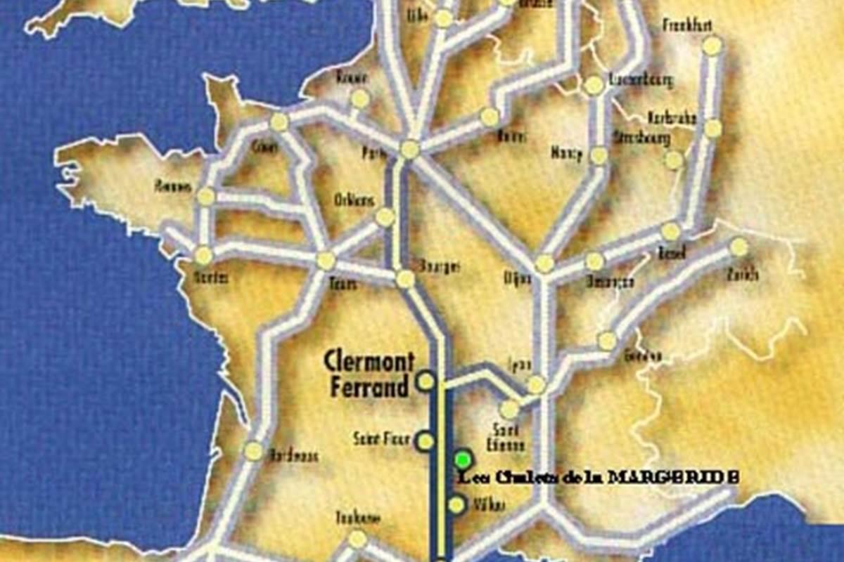 Les Chalets de la Margeride Au cœur du réseau autoroutier