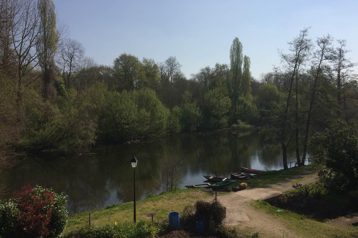 La Dordogne depuis les gîtes