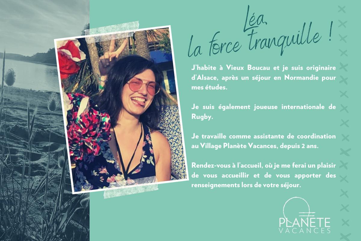 présentation team Planète Vacances - Léa