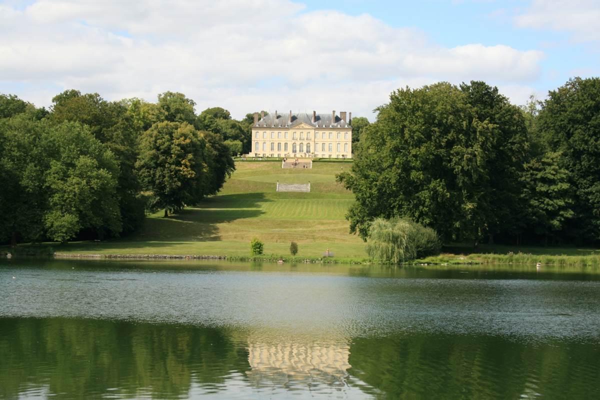 Le Domaine de Villarceaux, le chateau du Haut
