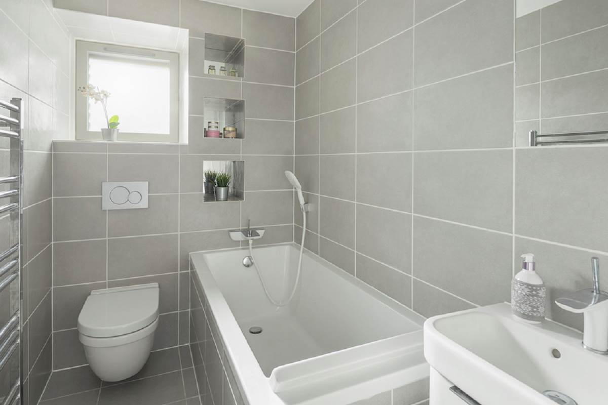 12 Private Bathroom with Shower