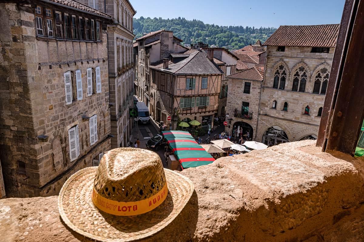 Vue sur les toits de Figeac © Loïc BEL - Bel et Bien Vu