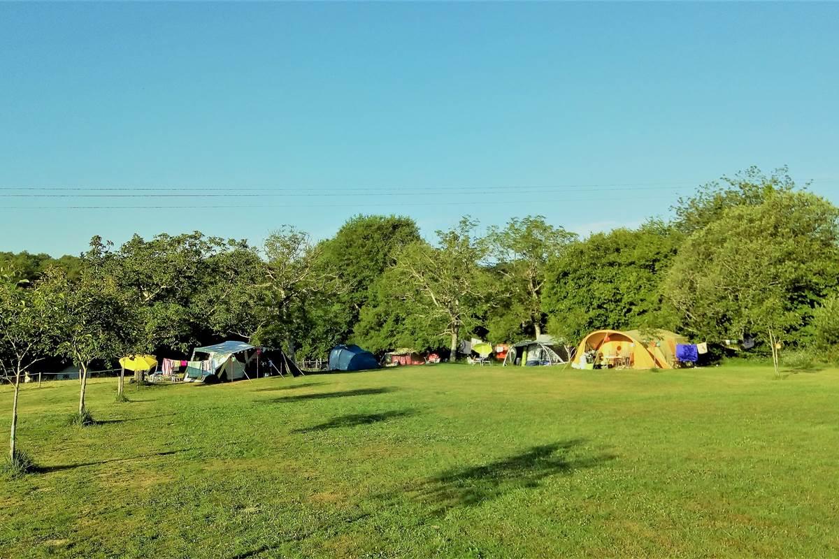 camping vroeg