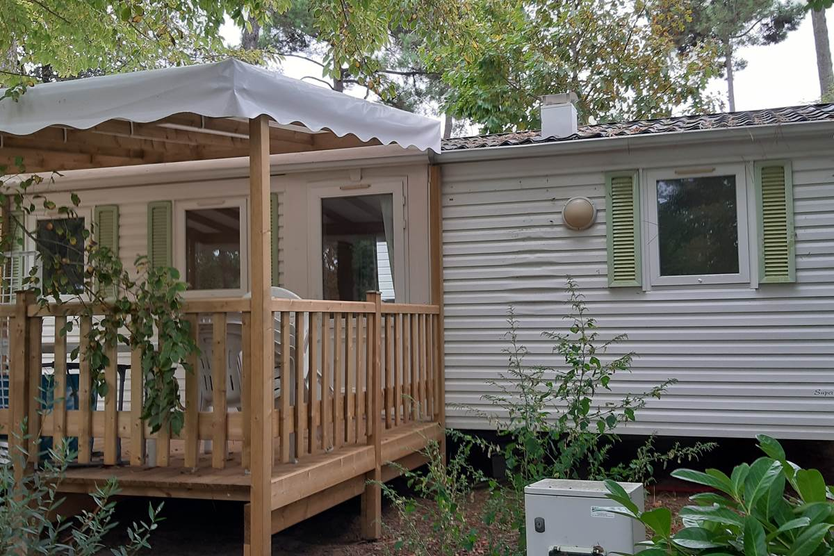 Mobil-Home Dorade - Camping Les Pins d'Oléron - Ile d'Oléron
