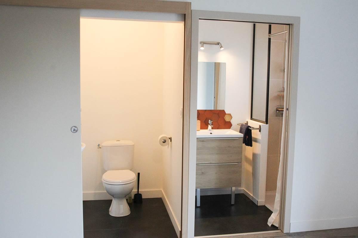 Le Répit de l'Oust - Salle de bain & WC privatifs