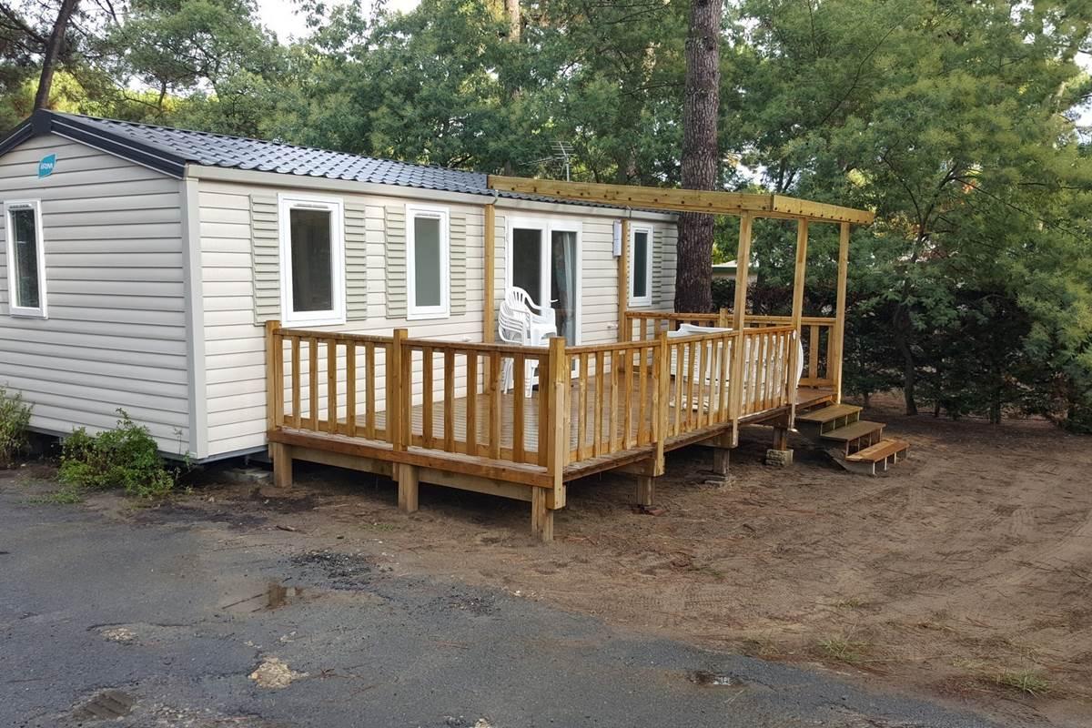 Mobil-Home Pétoncle - Camping Les Pins d'Oléron - Ile d'Oléron