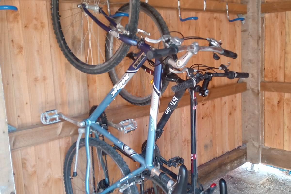 Le Répit de l'Oust - Abri vélo
