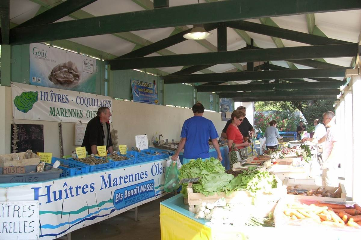 marché camping