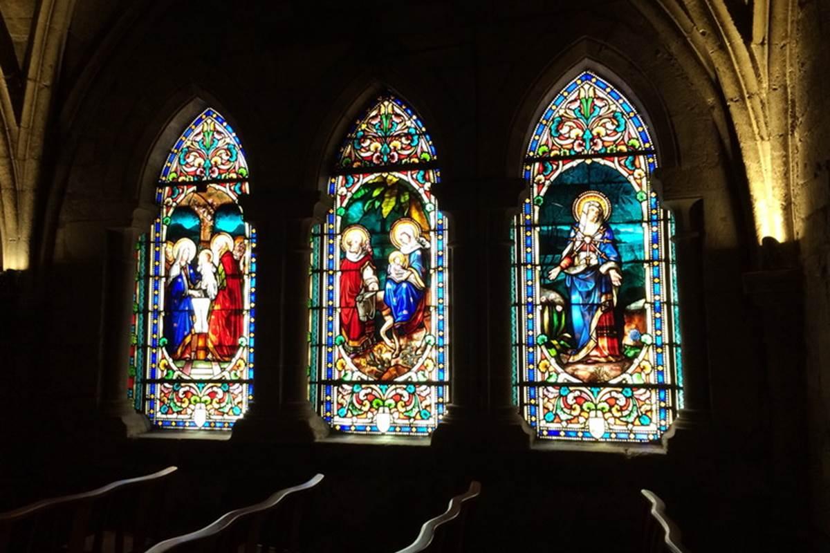Chapelle de l_abbatiale St Sauveur Figeac © Lot Tourisme C. Novello