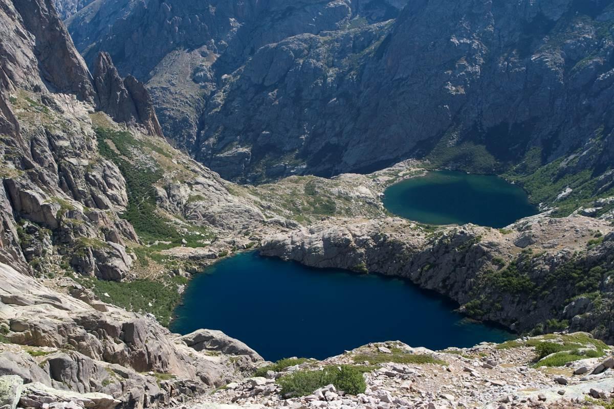 Lacs de Capitello et de Melo