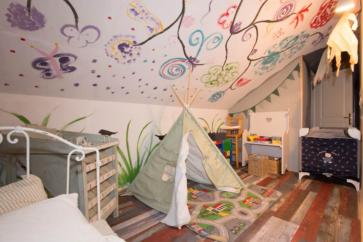 Salle de jeux enfants Gîte du Puit Des GRanges Faux Vesigneul