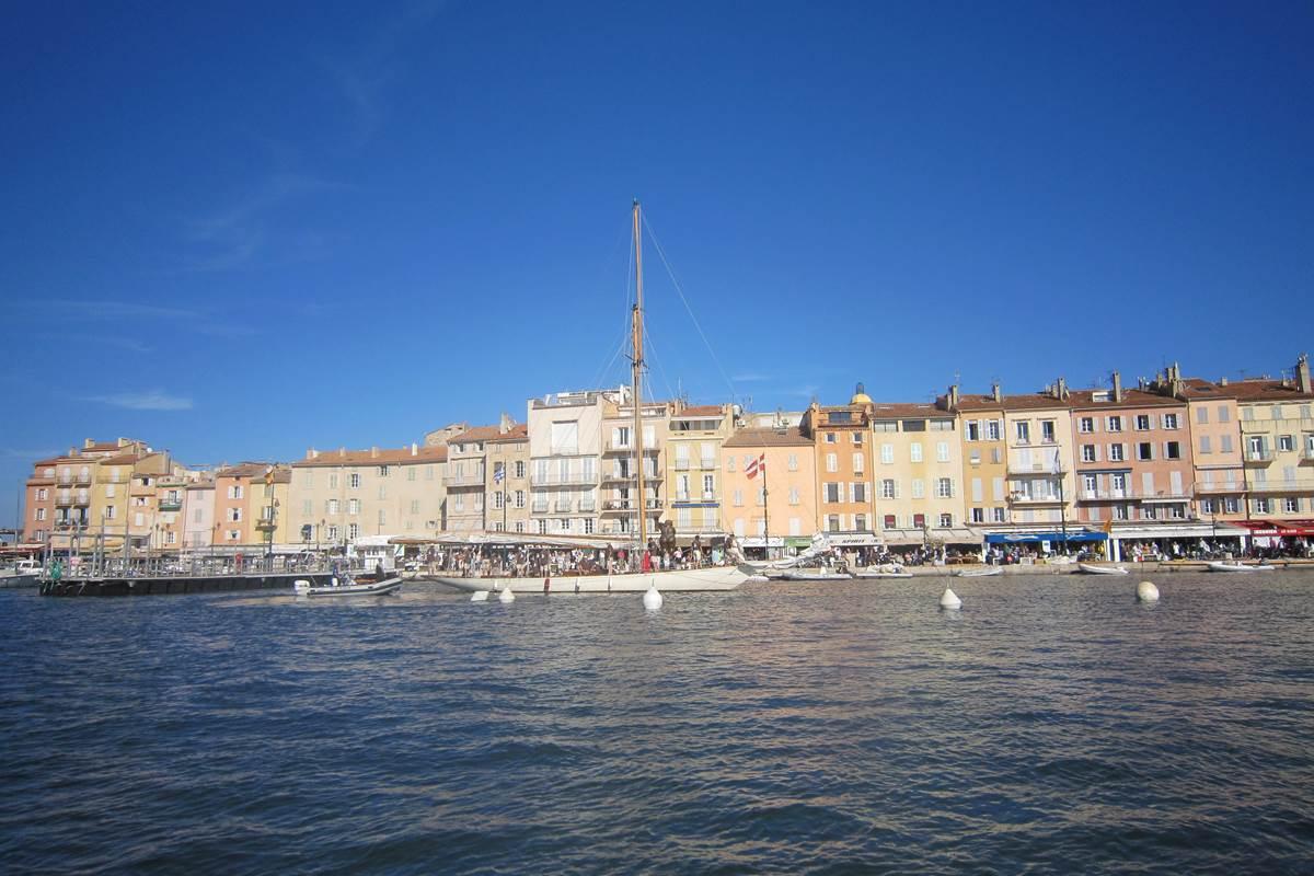 le port de Saint-Tropez