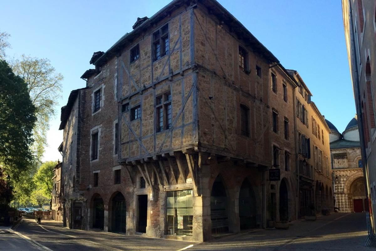 Maison Médiévale Rue Daurade © Lot Tourisme C. Novello
