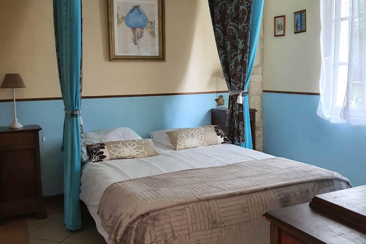 chambre azure coté chateaux