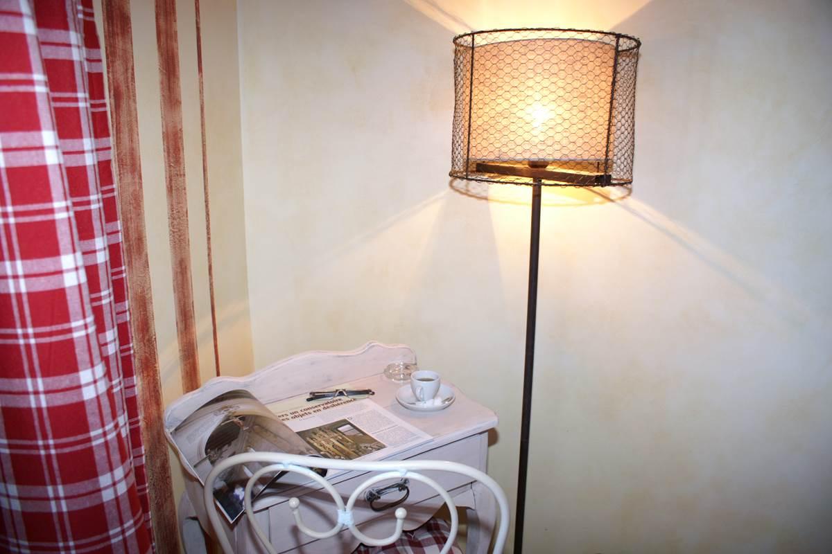 chambre lin et ficelle esprit campagne boudoir