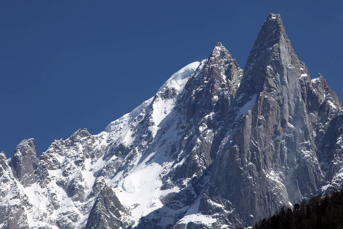 Les Drus, la Verte, Massif du Mont-Blanc