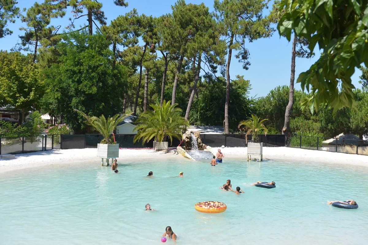 LE lagon naturel - Camping Les Pins - Ile d'Oléron
