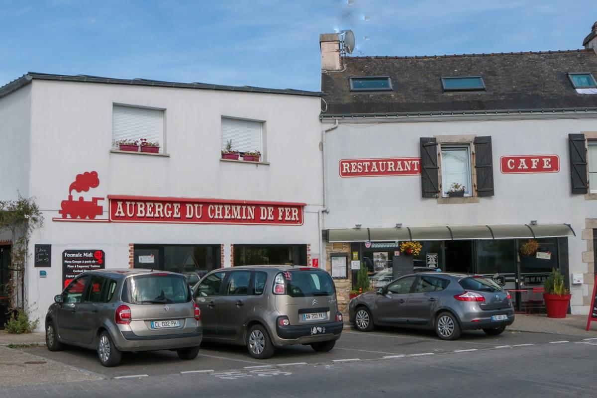 Auberge Chemin de Fer façade