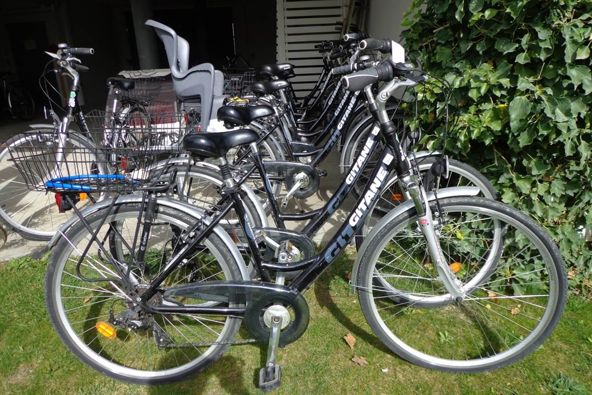 Location de vélo dans l'hôtel