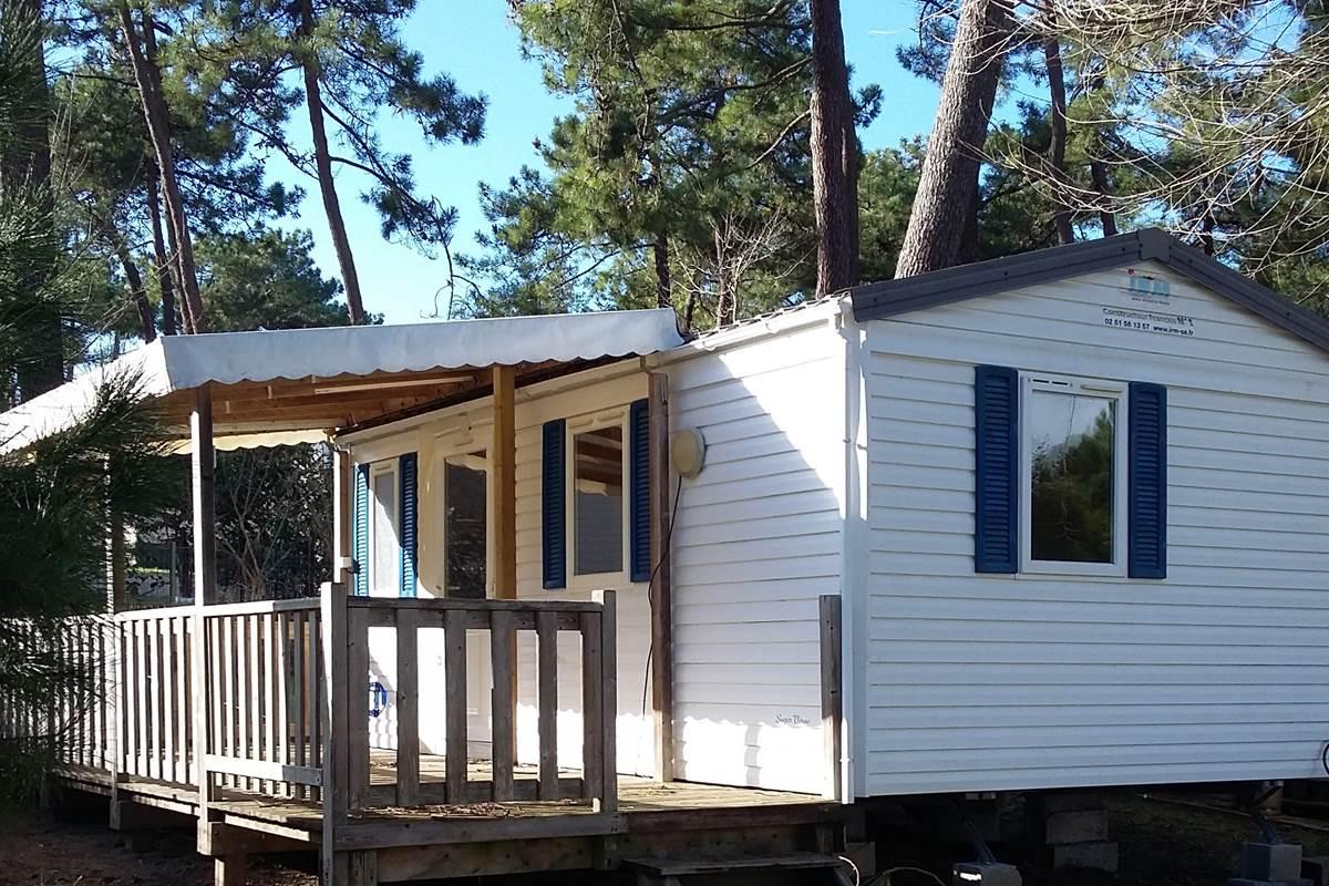 Mobil-Home Sardine - Camping Les Pins d'Oléron - Ile d'Oléron