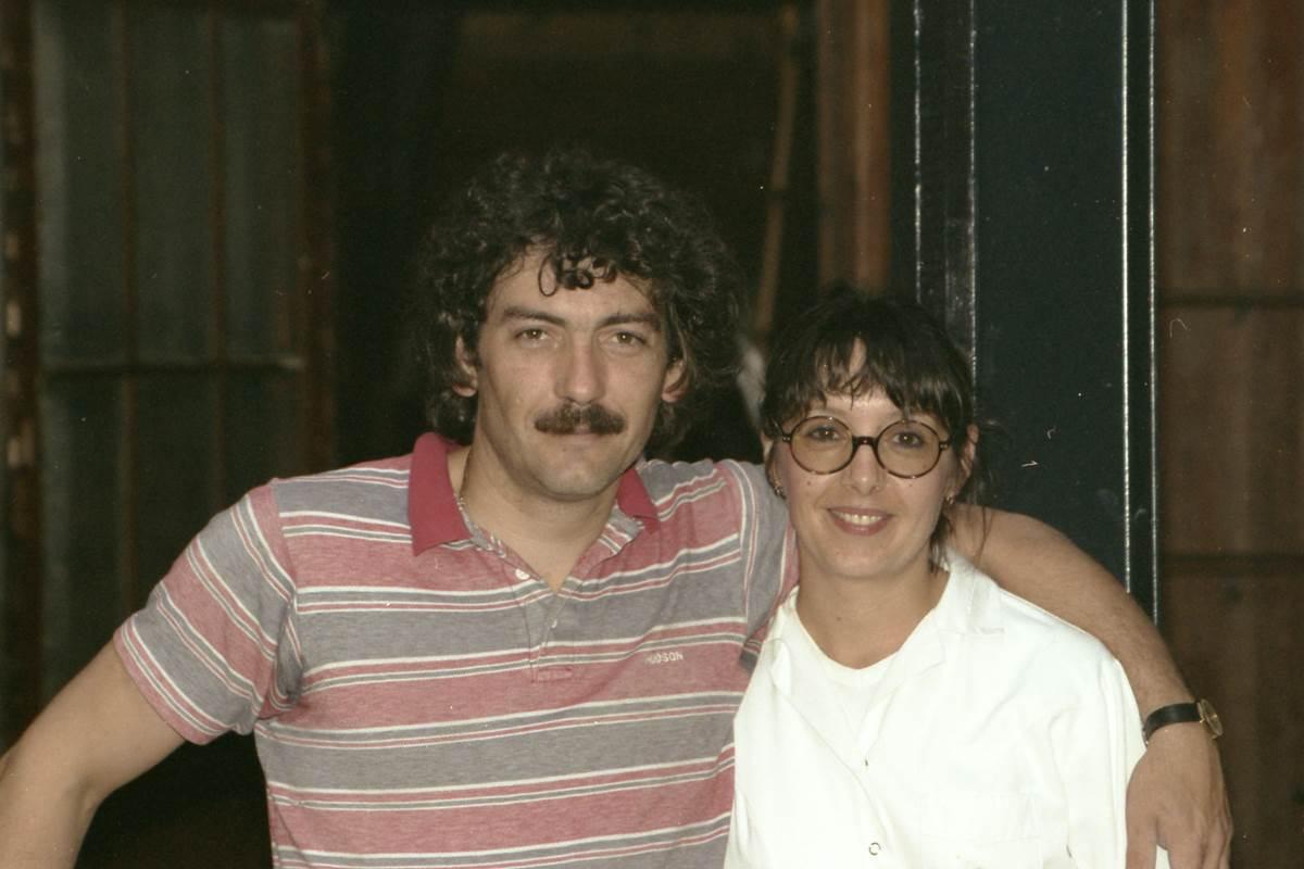 Les créateurs  Jean-François et Christine