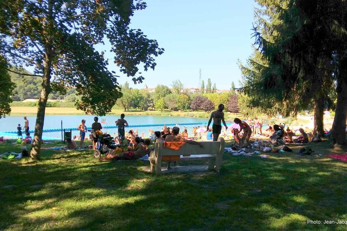 lac de montrèjeau base de loisirs