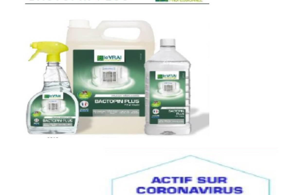 Produits Locaux utilisés pour le protocole sanitaire