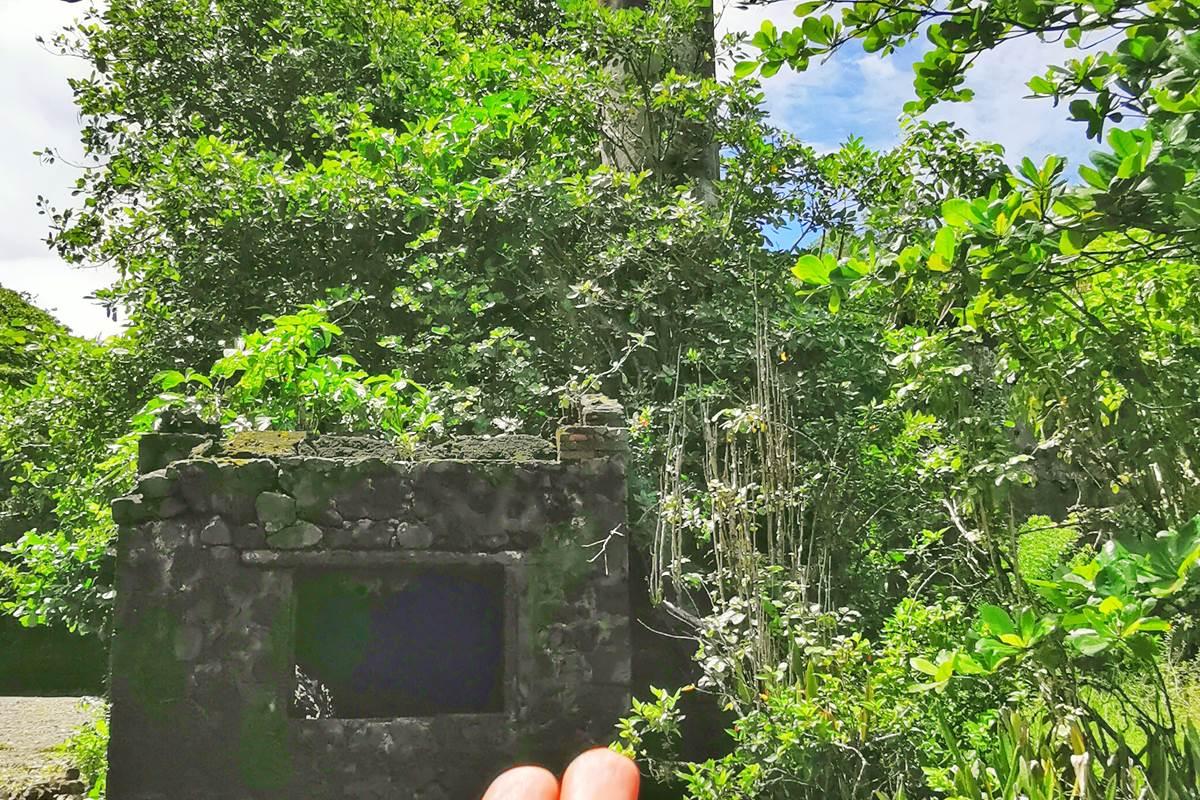 Ruines d'habitation